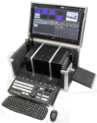 Tricaster PLP Series road case