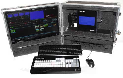 Tricaster Mini in PLP Flight Case