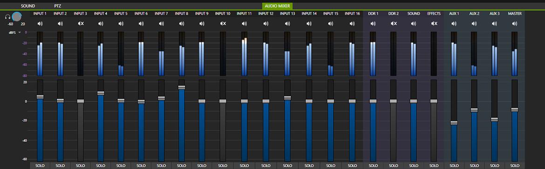 Tricaster tc1 Audio Mixer