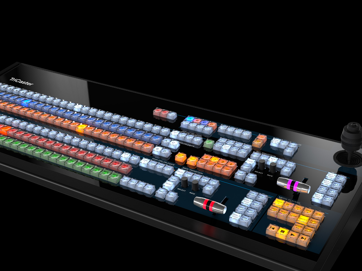 Tricaster TC1 CONTROL surface