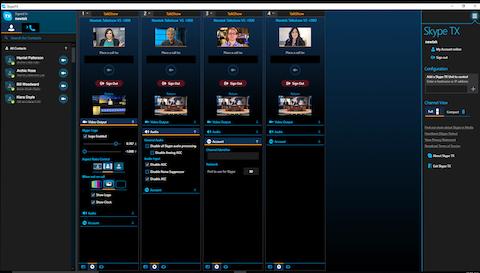 Tricaster TC1 Skype