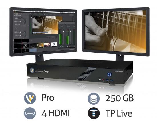 Wirecast Gear 110 features