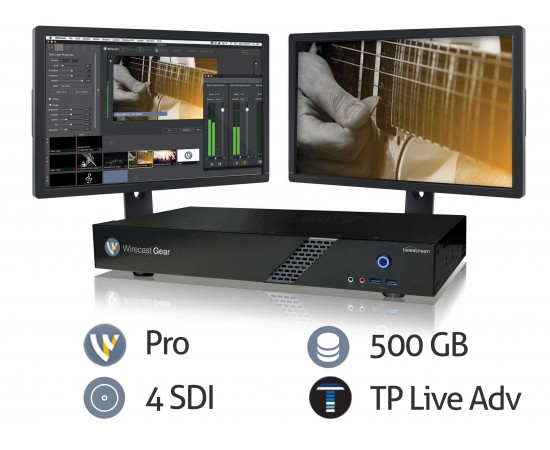 Wirecast Gear 210 features